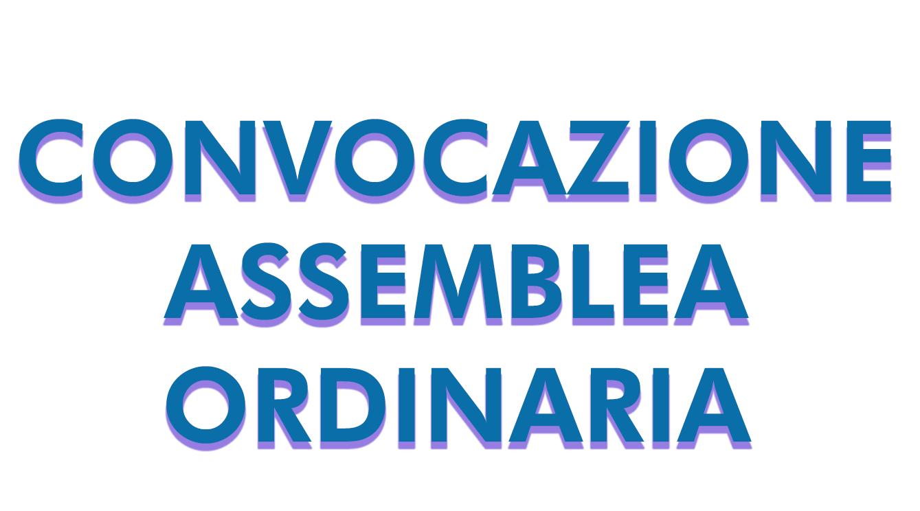 Convocazione Assemblea Ordinaria 27/04/2021 ore 15.30